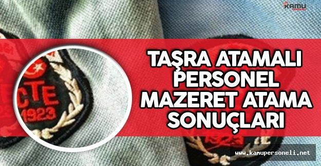 Adalet Bakanlığı CTE Taşra Atamalı Personelin Mazeret Atama Sonuçları Açıklandı