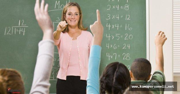 Aday Öğretmen Yetiştirme Takvimi Açıklandı