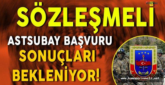 Adaylar Jandarma Genel Komutanlığı Sözleşmeli Astsubay Başvuru Sonuçlarını Bekliyor!