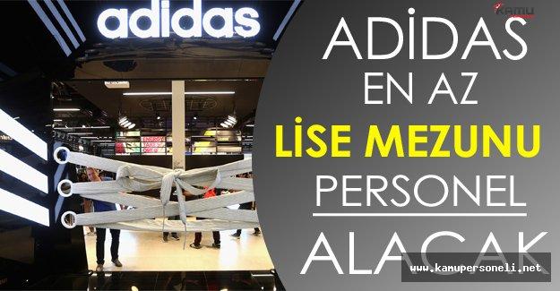 Adidas En Az Lise Mezunu Personel Alacak