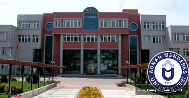 Adnan Menderes Üniversitesi 27 Akademik Personel Alacak