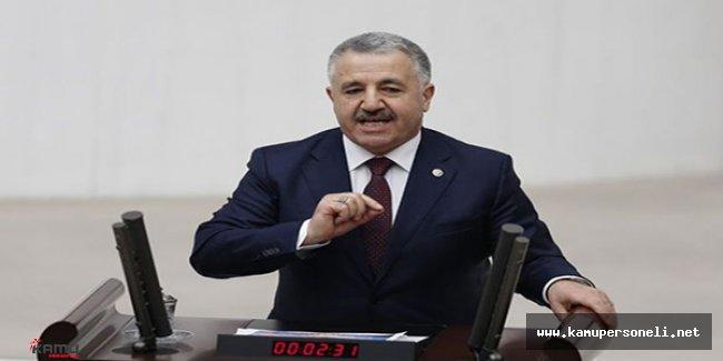 Ulaştırma Bakanı Ahmet Arslan'dan Taşeron İşçi Yorumu