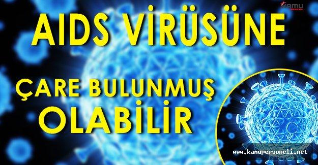 AIDS Virüsünün Tedavisi Bulunmuş Olabilir!