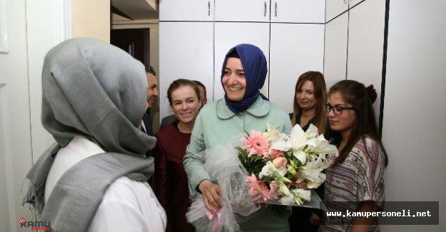Aile Bakanı Kaya Çocuk Evlerini Ziyaret Etti ve Açıklamalarda Bulundu