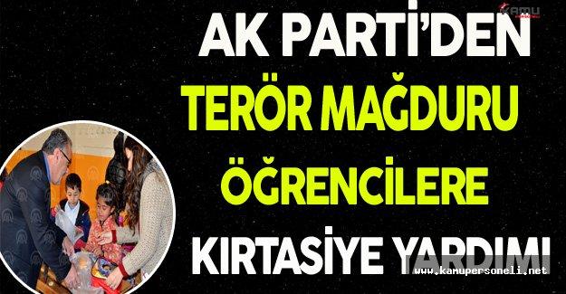 Ak Parti'den Hakkari'deki Terör Mağduru Öğrencilere Yardım