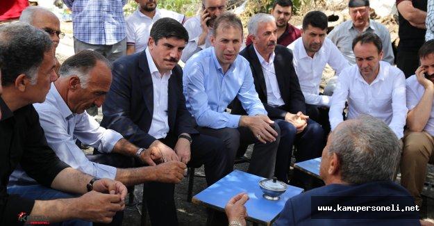 Ak Parti Genel Başkan Yardımcısı Düzelen İlişkiler Hakkında Konuştu
