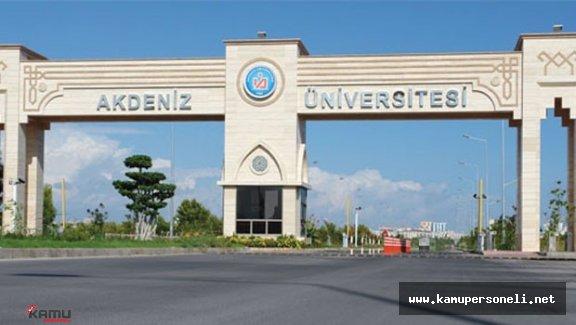 Akdeniz Üniversitesi'nde 17 Şüpheli Daha Gözaltına Alındı