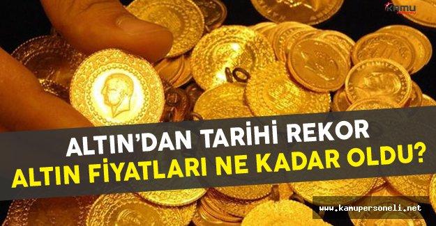 Altın Son Zamanların En Büyük Rekorunu Kırdı! Altın Ne Kadar Oldu?