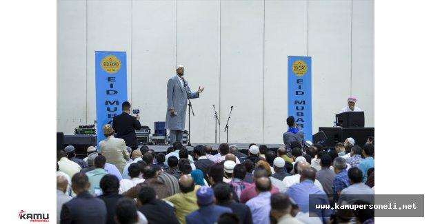 Amerika Birleşik Devletleri (ABD) 'de Ramazan Bayramı Sevinci