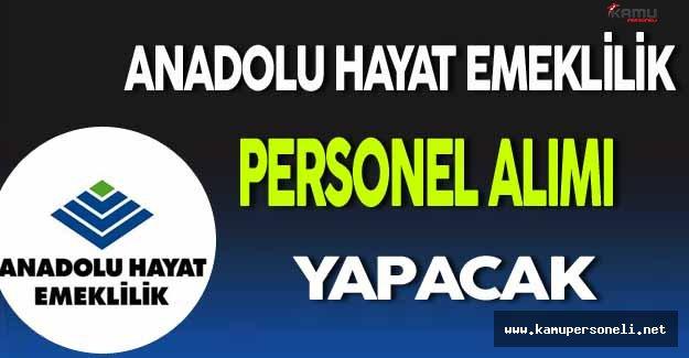 Anadolu Hayat Emeklilik Personel Alımı Yapacak