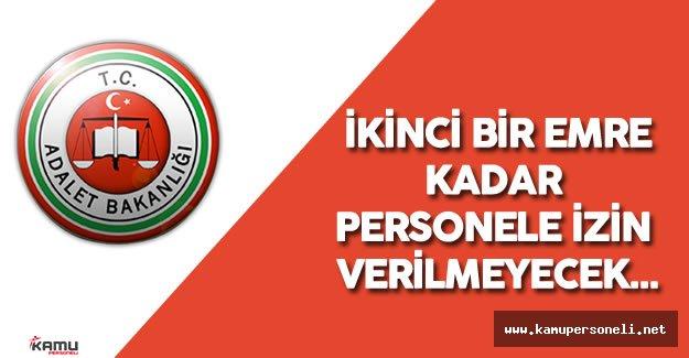 Ankara Adliyesi'nde Personel İzinleri Durduruldu