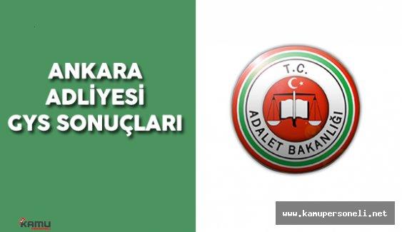 Ankara Adliyesi Zabıt Katipliği Görevde Yükselme Uygulama Sınavı Sonuçları Açıklandı
