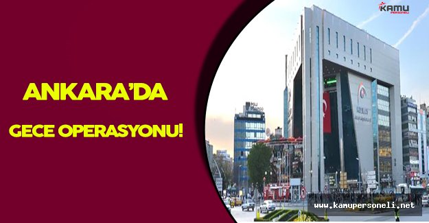 Ankara' da Hareketli Dakikalar: Güven Operasyonu Yapıldı