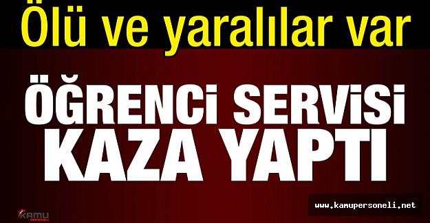 Ankara'da İnanılmaz Kaza 3 Öğrenci Öldü