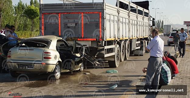Ankara'da İnanılmaz Kaza Ölü ve Yaralılar Var