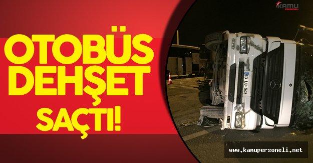 Ankara'da Zincirleme Kaza 25 Kişi Yaralandı!