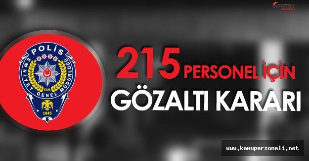Ankara Emniyetinde Bylock Operasyonu - 215 Personel İçin Gözaltı Kararı