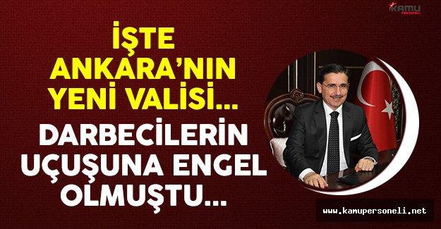 Ankara'nın Yeni Valisi Ercan Topaca Kimdir ?