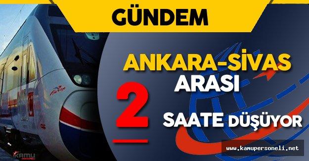 Ankara-Sivas Yüksek Hızlı Tren (YHT) Projesinde Son Durum