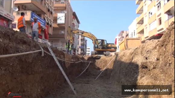 Antalya'da Altyapı Kazı Çalışmalarından Mezarlık Çıktı