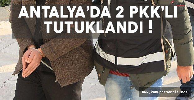 Antalya'da eylem hazırlığında bulunan teröristler yakalandı