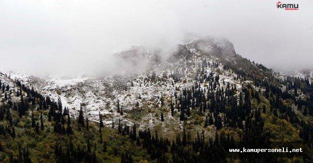 Ardahan'da Kar Yağışı Zor Anlar Yaşattı