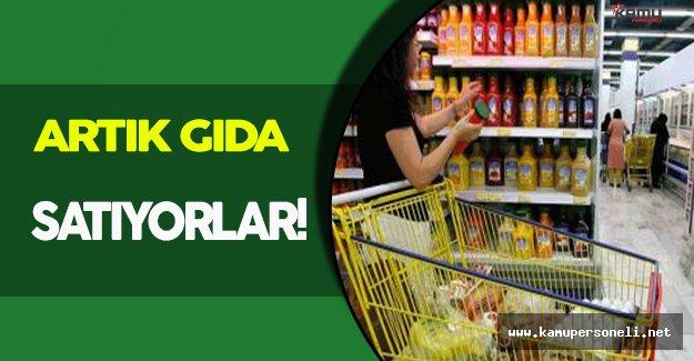""""""" Artık """" Gıda Satan Süpermarket!"""