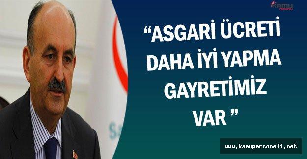 Bakan Müezzinoğlu'ndan Asgari Ücret ve Kamuya Personel Alımlarına İlişkin Önemli Açıklamalar