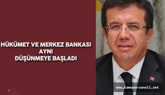 """Bakan Zeybekçi : """"Şu anda Merkez Bankamız ile Hükümetimiz Aynı Düşünmeye Başladı"""""""