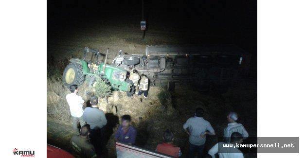 Balıkesir'de Trafik Kazası Ölü ve Yaralılar Var
