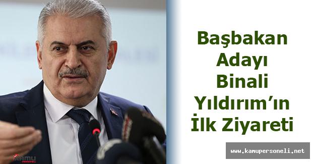 Başbakan Adayı Binali Yıldırım'ın İlk Ziyareti Diyarbakır'a Oldu