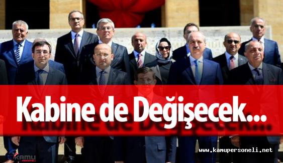 Başbakan Ahmet Davutoğlu ile Birlikte Bakanlar da Değişiyor