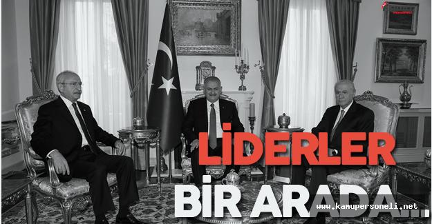 Başbakan ve Muhalefet Liderleri Bir Arada