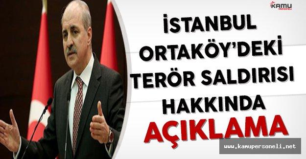Başbakan Yardımcısı Kurtulmuş'tan Terör Saldırısı Hakkında Açıklama