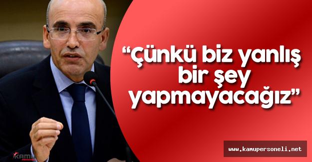 """Başbakan Yardımcısı Şimşek: """"Türkiye'nin temelleri sağlam!"""""""