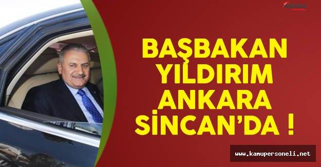 Başbakan Yıldırım Cuma Namazını Sincan'da Kıldı