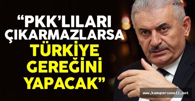Başbakan Yıldırım'dan Sincar ve PKK açıklaması