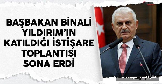 Başbakan Yıldırım'ın AK Parti Milletvekilleriyle Düzenlediği İstişare Toplantısı Sonlandı