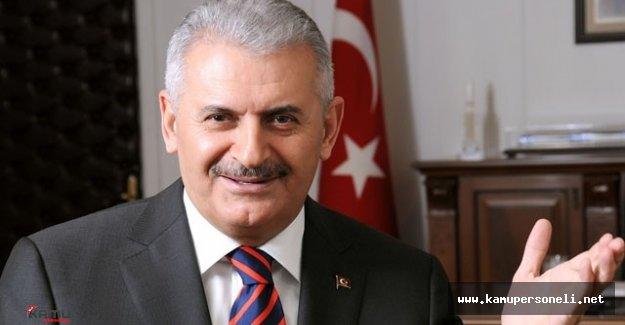 Başbakan Yıldırım ve Beraberindeki Heyet Ankara'ya Hareket Etti
