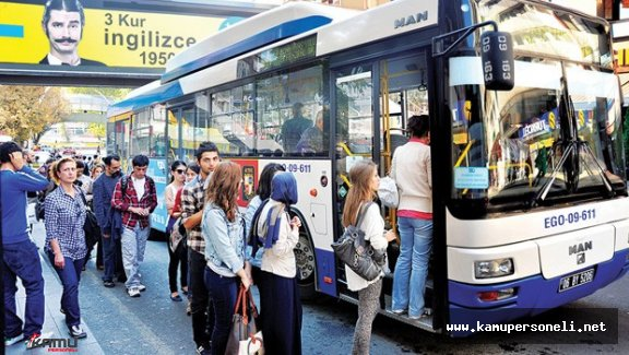 Başkent'de Otobüsler ve Metrolar Ne Zamana Kadar Ücretsiz ?