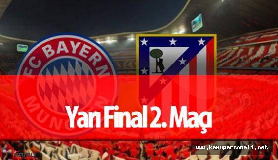 Bayern Münih Athletico Madrid Saat Kaçta? Hangi Kanalda Yayınlanacak?