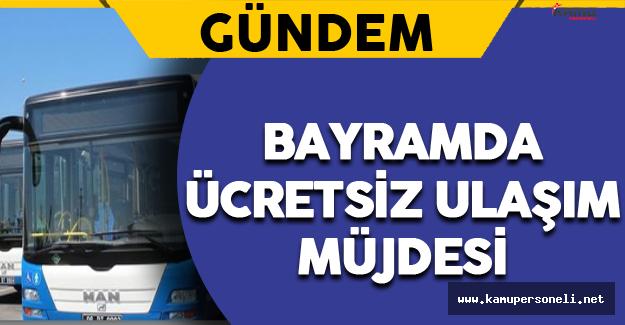Ankara Büyükşehir Belediyesi'nden Ücretsiz Ulaşım Duyurusu !