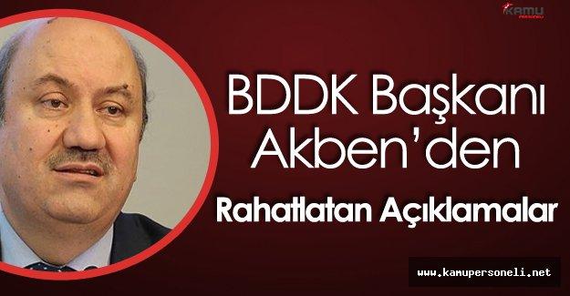 """BDDK Başkanı :"""" Yurt Dışı Borçlanmalarda Sorun Yaşanmadı"""""""