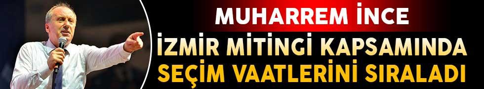 Muharrem İnce İzmir'de Halka Seslendi (Asgari Ücret, Emekli Maaşı, Burs, Ekonomi, ve Sınav Ücretleri)