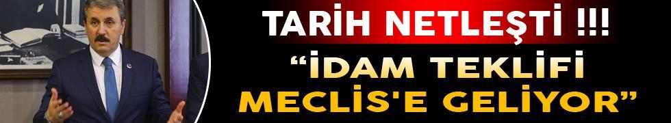 İdam Teklifi Meclis'e Geliyor! Tarih Netleşti