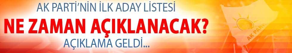 AK Parti'nin İlk Aday Listesinin Ne Zaman Açıklanacağı Belli Oldu