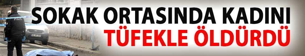 Kayseri'de Vahşet! Sokak Ortasında Kadını Tüfekle Öldürdü