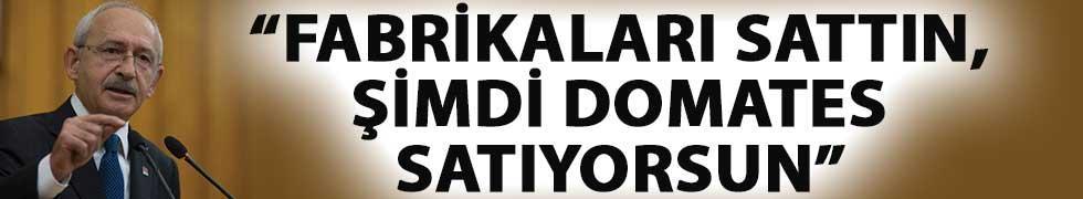 Kılıçdaroğlu'ndan Cumhurbaşkanı Erdoğan'a: Fabrikaları Sattın, Şimdi Domates Satıyorsun