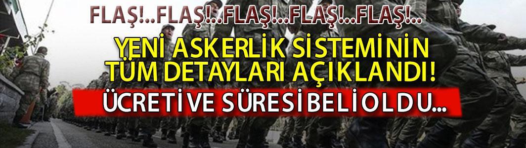 Hulisi Akar'dan flaş 'yeni askerlik sistemi' açıklaması! Süresi ve ücreti belli oldu...