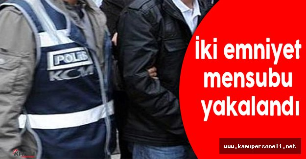 Bitlis'te 2 Emniyet Mensubu Yakalandı